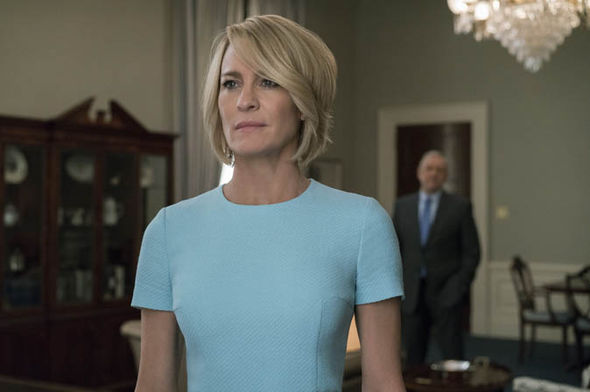 House of Cards: Robin Wright as Claire Underwood