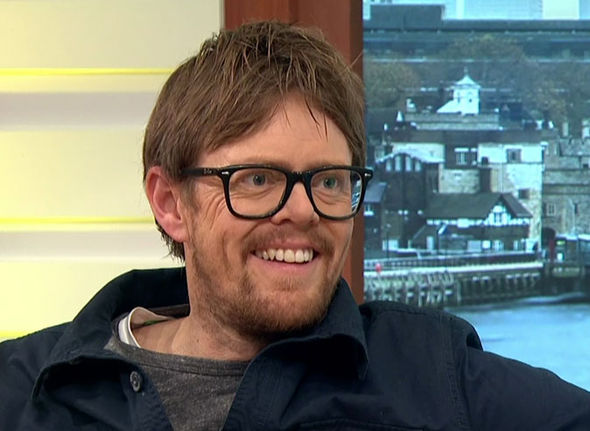 Kris Marshall smiling on Good Morning Britain