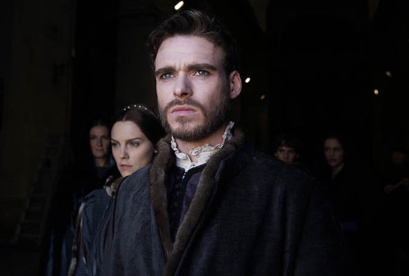 Richard Madden in Medici: Masters of Florence