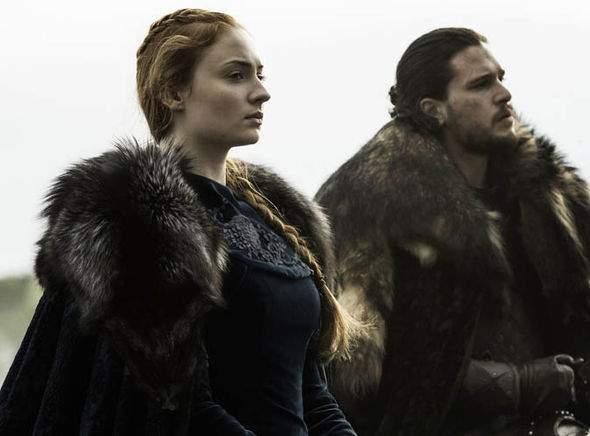 Sansa and Jon