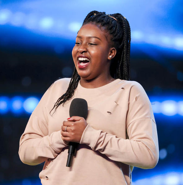 Sarah Ikumu on Britain's Got Talent