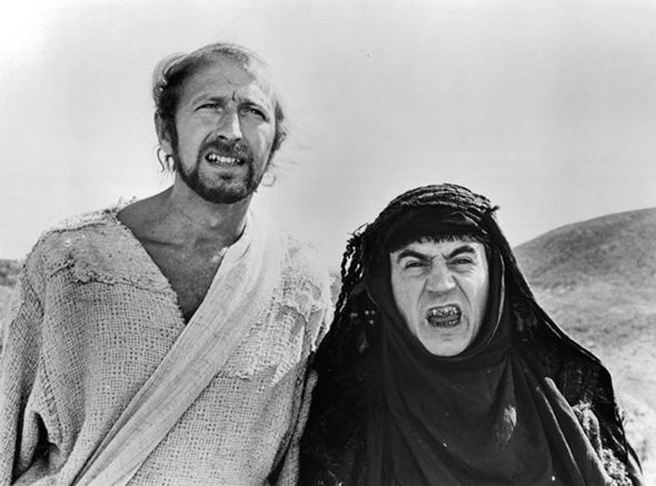 Graham Chapman And Terry Jones In 'Life Of Brian'