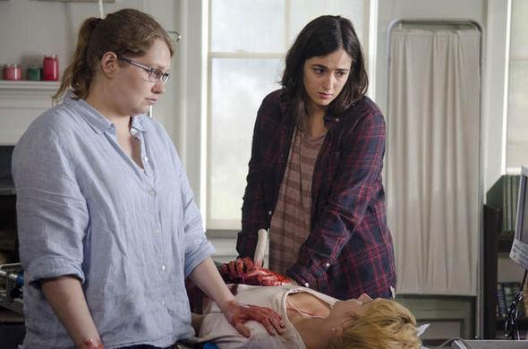 The Walking Dead – Holly death scene