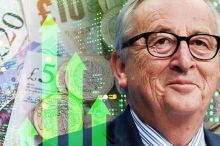 Brexit enhance: Pound soars to HIGH after Jean-Claude Juncker says 'we are able to get deal' 1180543 1