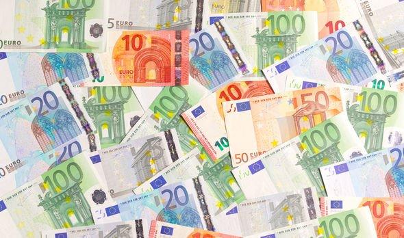 Euro zone euro