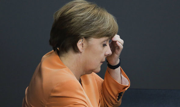 german chancllor angela merkel