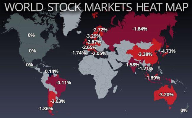 Stock Market Crash 2018 The World S Worst Hit Markets