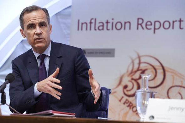 Mark Carney's inflation report