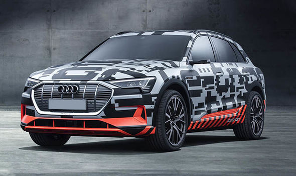 Audi E Tron Electric Interior Has Been Revealed In A New Set Of
