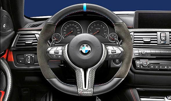 bmw steering wheels are