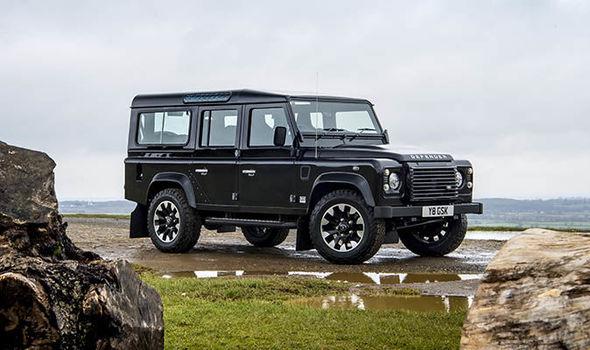 2015 Range Rover Defender Interior