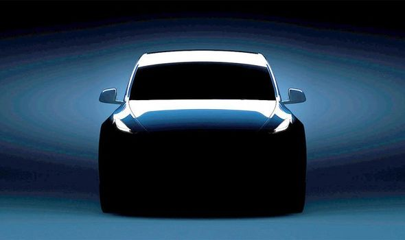 Tesla Model Y Teaser Revealed Ahead Of Launch This Week New Suv Unveiled On Thursday Express Co Uk