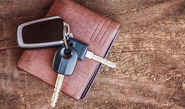 Car keys wallet