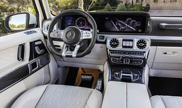 Mercedes Benz AMG G Class G63 interior