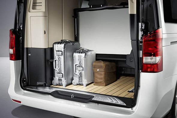 two seater chairs uk herman miller office costco mercedes v-class camper van - expensive mobile home isn't for everyone | cars life & style ...