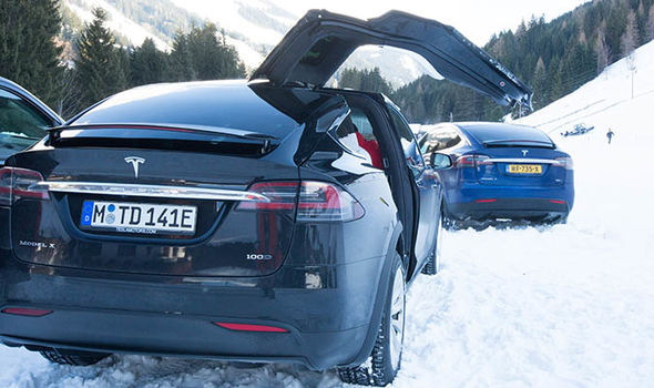 Tesla Winter Drive