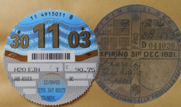 eBay car tax disc The car versions to buy which are