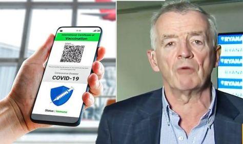 Holiday chaos: Ryanair urges UK to join EU Covid pass - 'major operational risk' warning