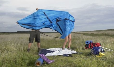Camping equipment packing – a simple 'very easy' ingredient to remove rust