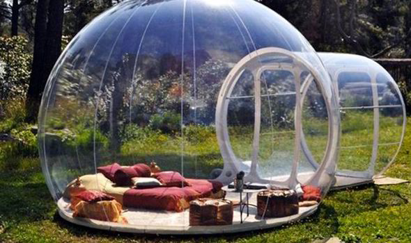 Image result for bubble hotel