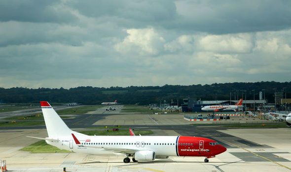 Norwegian Airlines aircraft