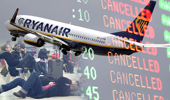 Ryanair strike could CANCEL FLIGHTS days before Christmas  Travel News  Travel  Expresscouk
