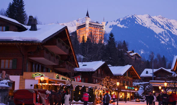 Glamour of Gstaad  Travel News  Travel  Expresscouk