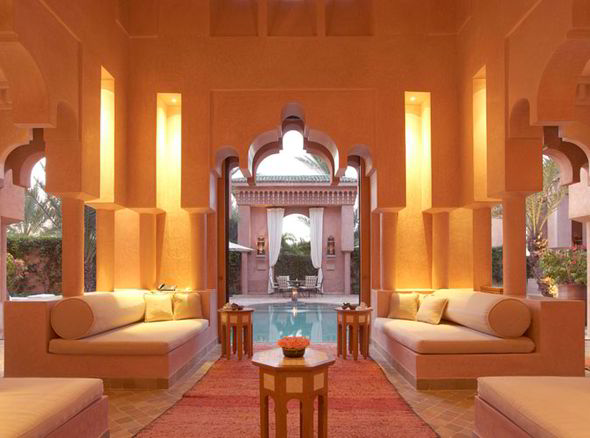 Inside David Beckhams 40th birthday hotel Moroccan