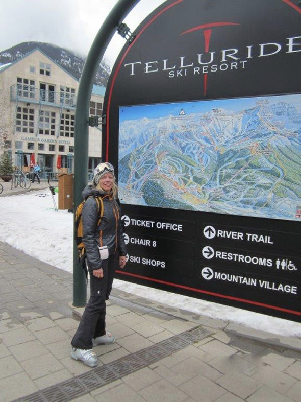 Telluride is popular with A listers and tourists