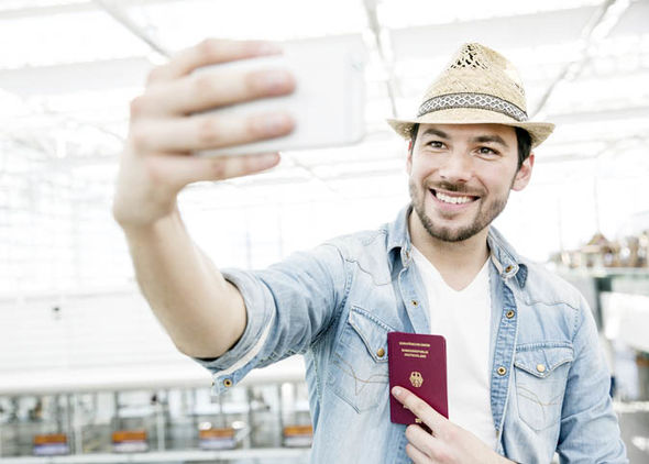 Don't take a selfie, it's not allowed