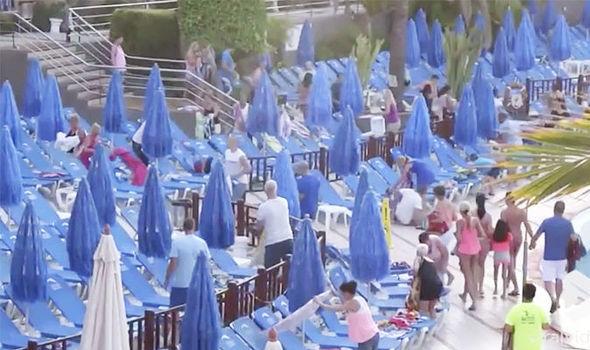 sun loungers, sun lounger, holidays, dunas mirador hotel gran canaria, dunas mirador gran canaria, gran canaria hotel, gran canaria holidays