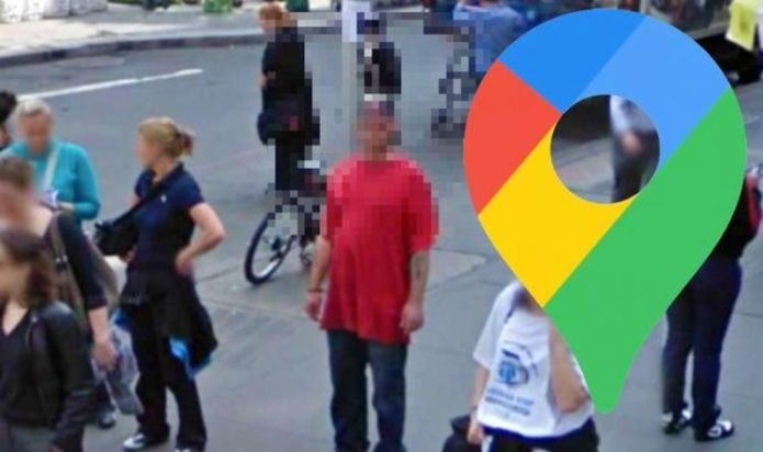 Google Maps Street View: Man spotted using live cat in very unusual way