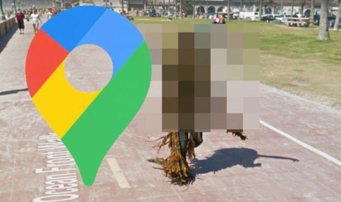 Google Maps Street View: Man's 'quarantine hairstyle' shocks viewers