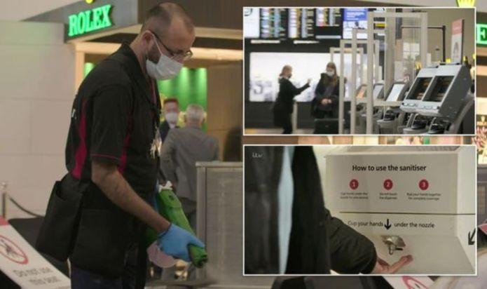 Heathrow Airport: Sneak peek at airport's lockdown 'weapons' including robots