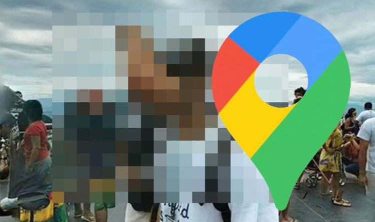 Google Maps Street View: Tourist's face suffers bizarre disfiguration - what's happened?