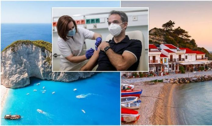 Greece holiday plan: Greeks desperate for Brits to return launch vaccine for Greek islands