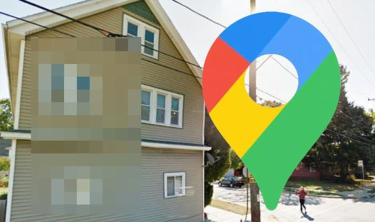 Google Maps Street View: Sinister figure lurks behind window in very creepy photo