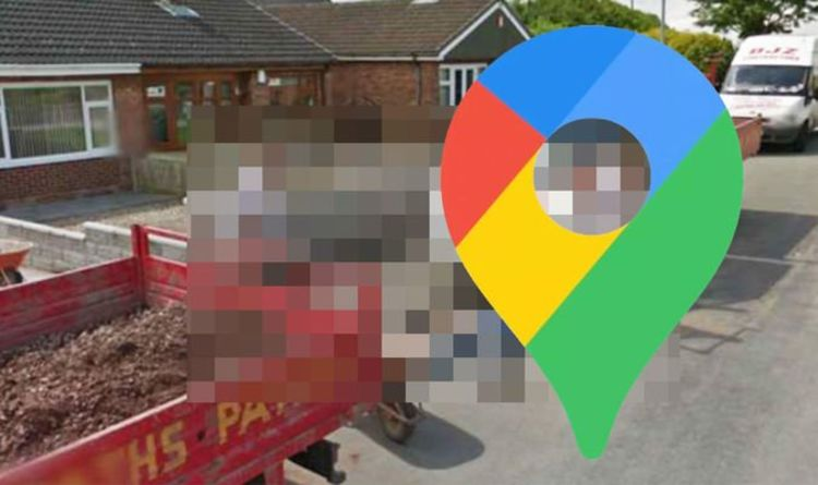Google Maps Street View: Builders caught in hilarious prank 'attack'