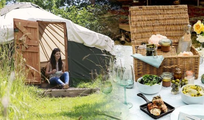 Camping: Top luxury add-ons UK sites are offering - from hot tubs to private bathrooms
