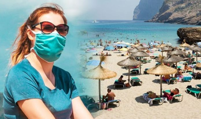Spain holidays: Tourists must wear face masks on the beach and all public spaces
