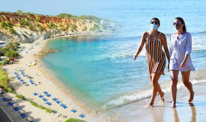 Spain holidays: Huge U-turn over mandatory mask law after British holidaymakers outraged