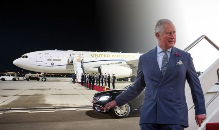 Royal travel: Prince Charles 'the most travelled' royal spending more than £2 million