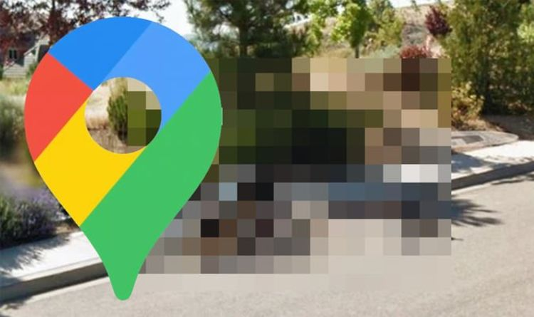 Google Maps Street View: Woman on bike spotted in dramatic crash - what caused it?