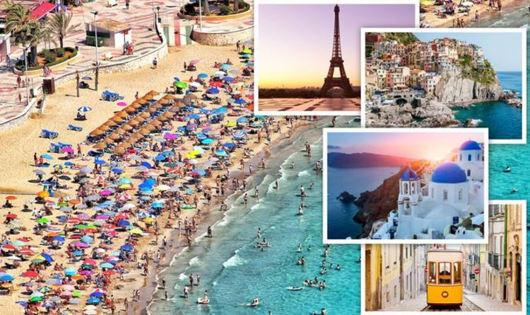 Holidays: FCDO updates for France, Spain, Italy, Greece and Portugal as lockdown eases