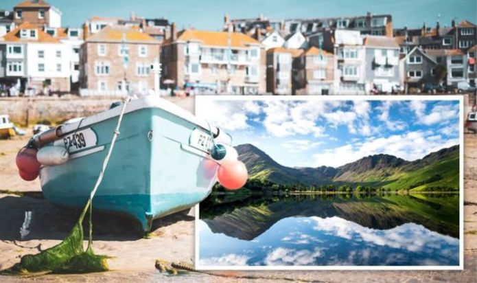 UK holiday destinations dominate foreign travel for summer - four key staycation hotspots