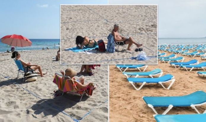 Benidorm to scrap umbrellas and sunbeds on beaches in May under continued Covid-measures