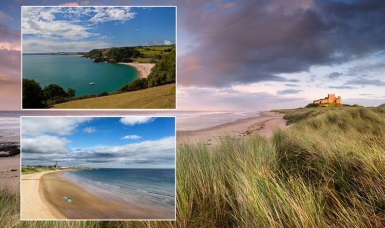 Britain's 'favourite' beach town named with Northumberland taking the crown - full list