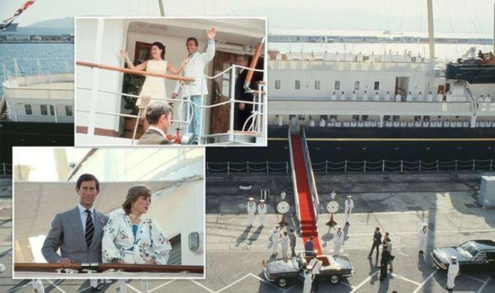'Cursed' Yacht Britannia saw Royal Family members who honeymooned onboard 'soon divorce'