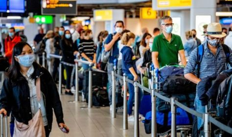 Holiday nightmare: Families face four hour airport waiting times when arriving back in UK