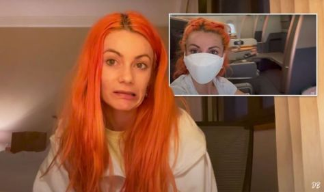 Dianne Buswell on travel & hotel quarantine in Australia - 'it's hard, not going to lie'